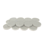 "5002W - 2 Sets of Eight 1"" Industrial Strength Adhesive Felt Disks"