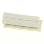 "5004W - 4 Strips of 3/4"" x 4"" Industrial Strength Adhesive Felt"