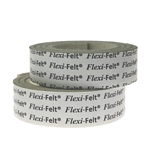 "5005W - 2 Strips of 1"" x 36"" Industrial Strength Adhesive Felt"