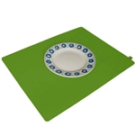 Green Apple Wool Felt Designer Placemat
